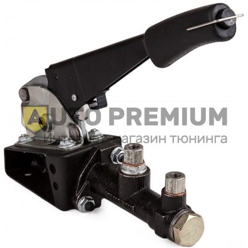 Ручной тормоз гидравлический с фиксатором